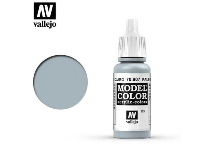 Vallejo 17ml 907 153 Model Color - Pale Greyblue 907