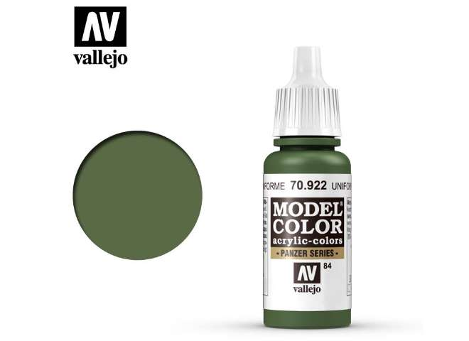 Vallejo 17ml 922 084 Model Color - USA Uniform 922