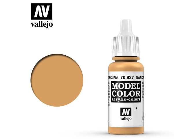 Vallejo 17ml 927 019 Model Color - Dark Flesh 927