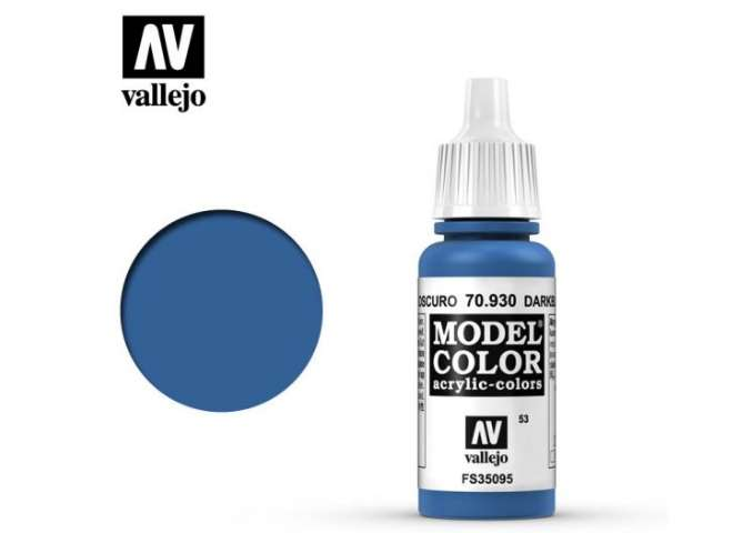 Vallejo 17ml 930 053 Model Color - Dark blue 930