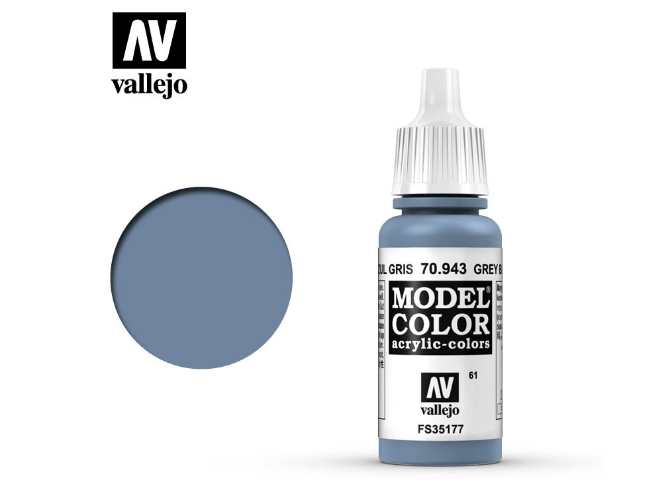 Vallejo 17ml 943 061 Model Color - Grey Blue 943