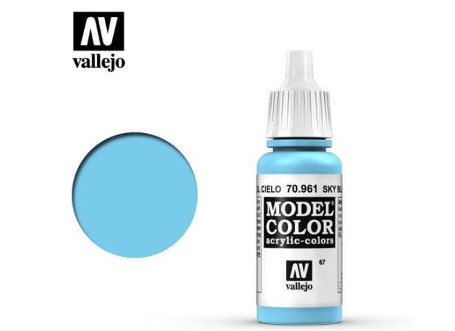 Vallejo 17ml 961 067 Model Color - Sky Blue 961