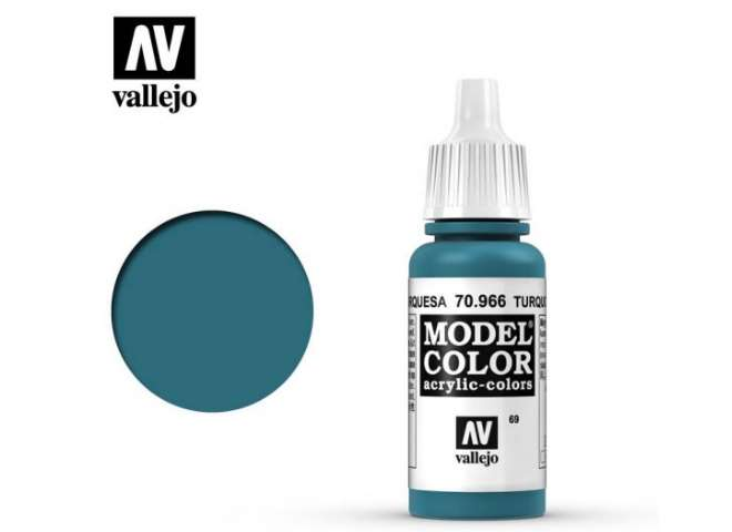 Vallejo 17ml 966 069 Model Color - Turquoise 966