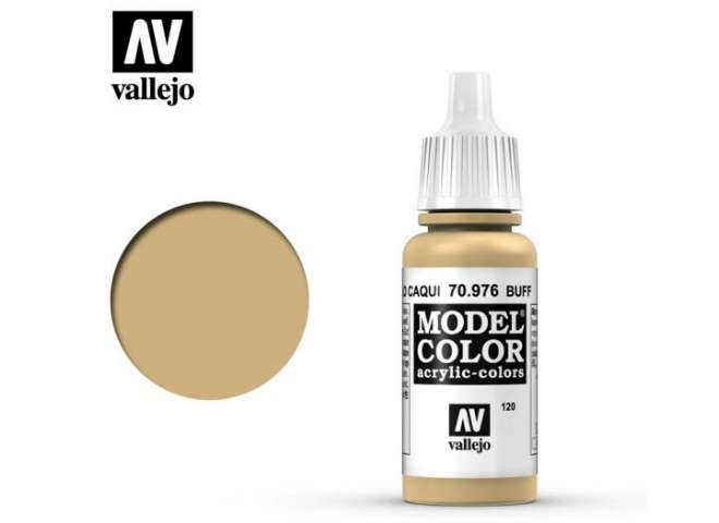 Vallejo 17ml 976 120 Model Color - Buff 976
