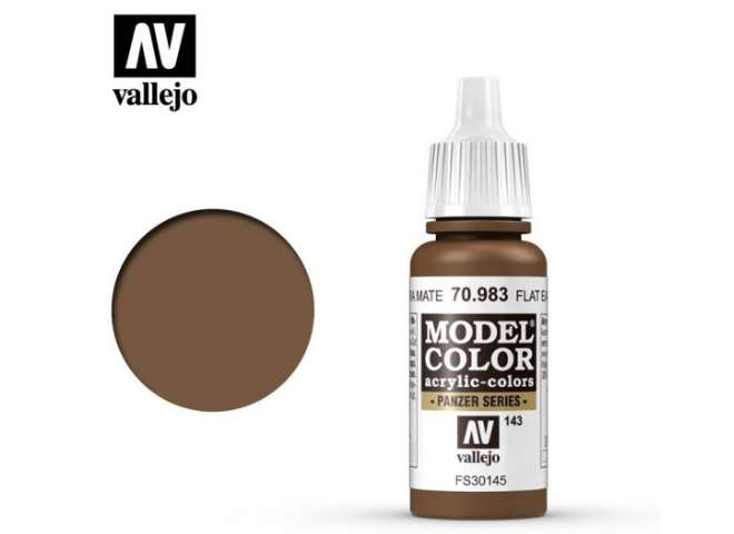 Vallejo 17ml 983 143 Model Color - Flat Earth 983