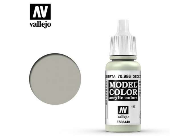 Vallejo 17ml 986 110 Model Color - Deck Tan 986
