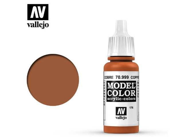Vallejo 17ml 999 176 Model Color - Copper 999