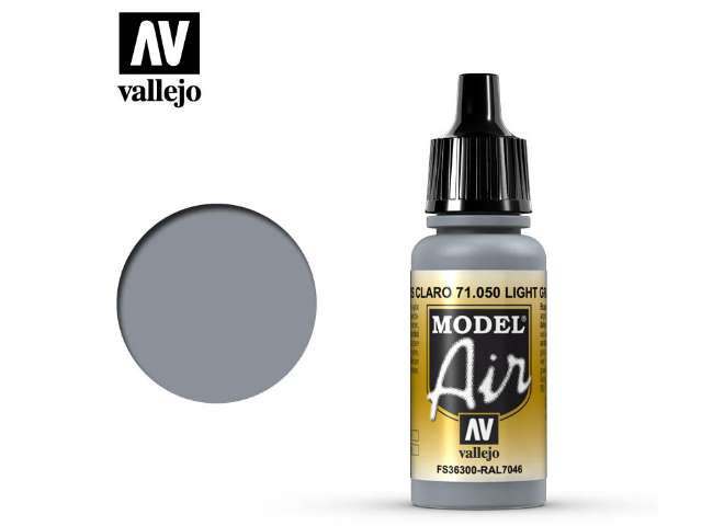 Vallejo 17ml MA050 Model Air - 050  Light Grey