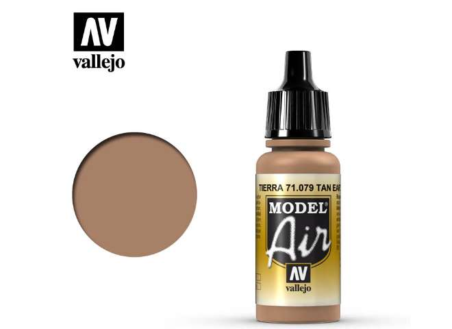 Vallejo 17ml MA079 Model Air - 079  Flat Tan