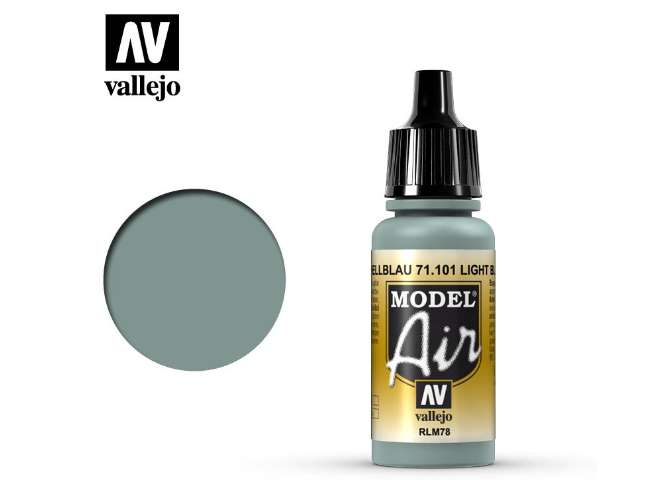 Vallejo 17ml MA101 Model Air - 101 Blue RLM 78