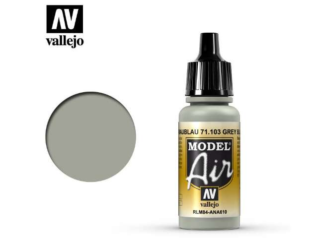 Vallejo 17ml MA103 Model Air - 103 Grey RLM 84
