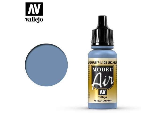 Vallejo 17ml MA108 Model Air - 108 UK Azure