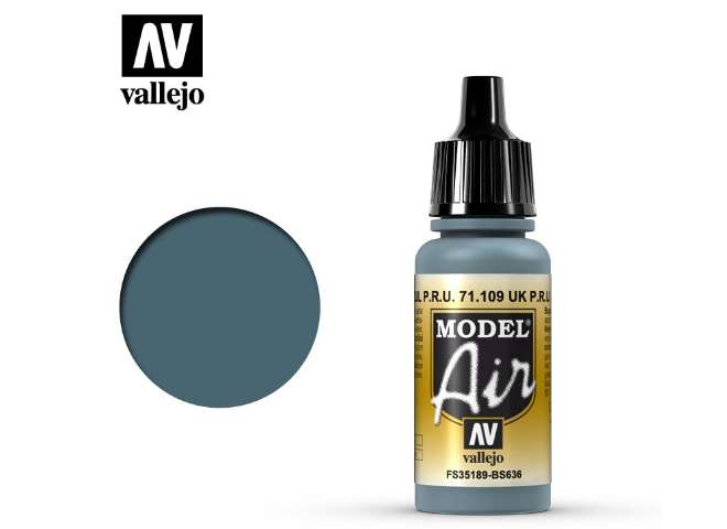 Vallejo 17ml MA109 Model Air - 109 UK P.R.U. Blue