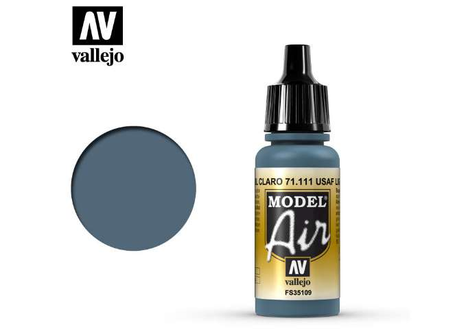 Vallejo 17ml MA111 Model Air - 111 UK Mediterranean Blue