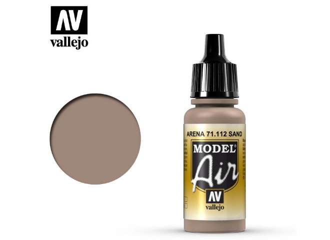 Vallejo 17ml MA112 Model Air - 112 US Sand