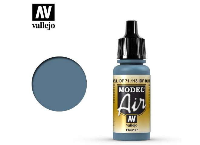 Vallejo 17ml MA113 Model Air - 113 US Intermediate Blue