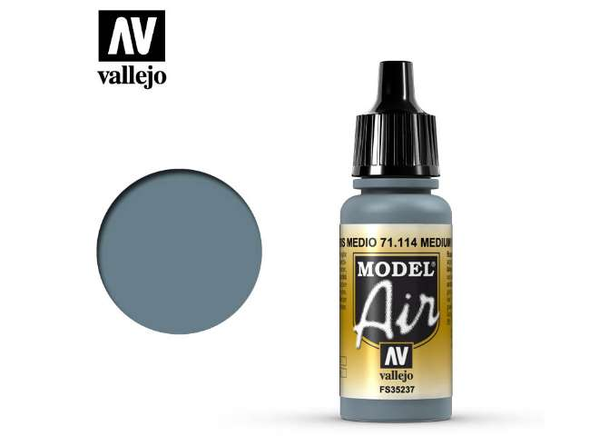 Vallejo 17ml MA114 Model Air - 114 US Blue Grey