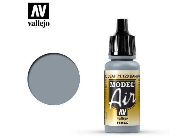 Vallejo 17ml MA120 Model Air - 120 USAF Medium Grey