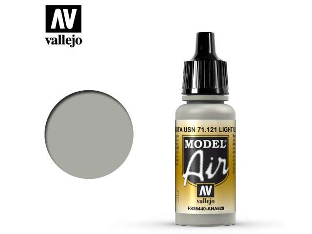 Vallejo 17ml MA121 Model Air - 121 USAF Light Grey