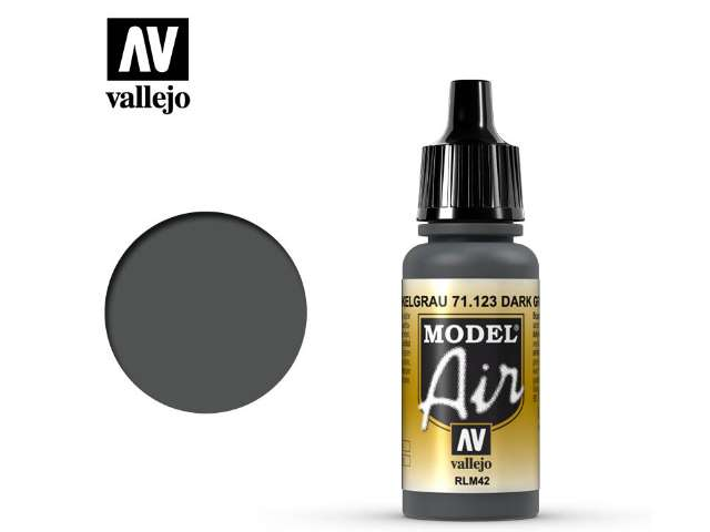 Vallejo 17ml MA123 Model Air - 123 USAF Dark Grey