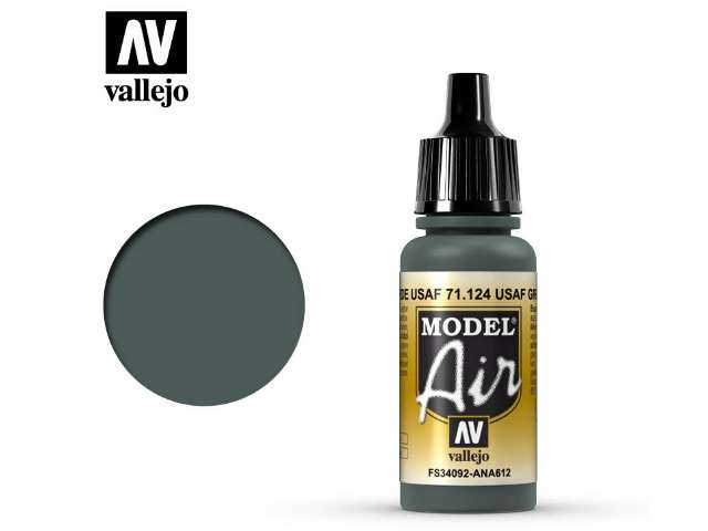 Vallejo 17ml MA124 Model Air - 124 USAF Green