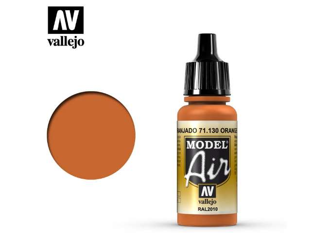 Vallejo 17ml MA130 Model Air - 130 Orange Rust