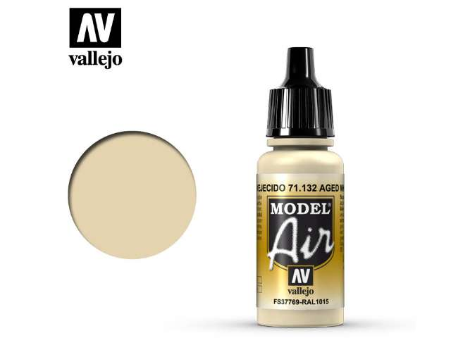 Vallejo 17ml MA132 Model Air - 132 Aged White