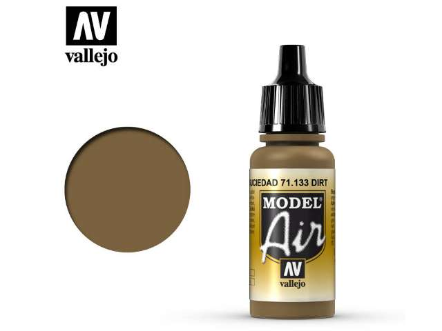 Vallejo 17ml MA133 Model Air - 133 Dirt