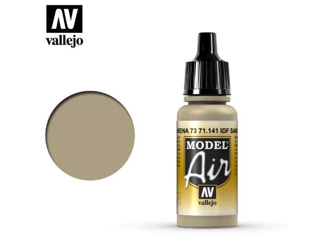 Vallejo 17ml MA141 Model Air - 141 IDF Sand Grey 73