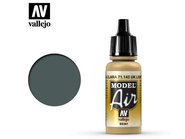 Vallejo 17ml MA143 Model Air - 143 UK Light Stone 61