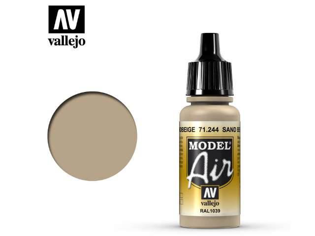 Vallejo 17ml MA244 Model Air - 244 Sand Beige