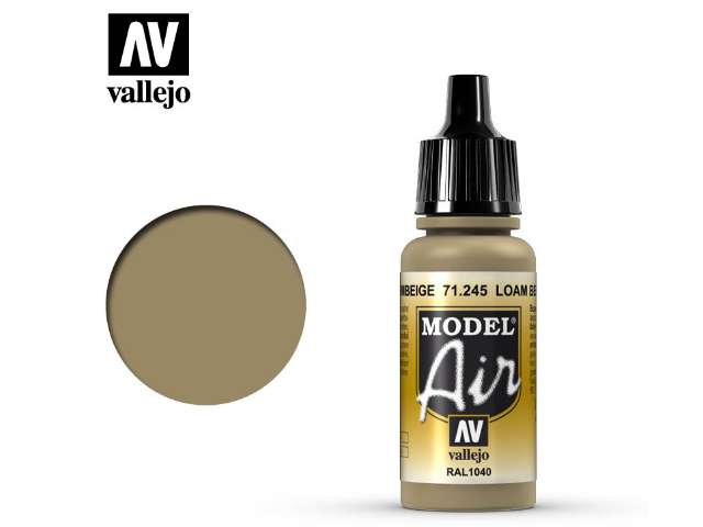 Vallejo 17ml MA245 Model Air - 245 Loam Beige