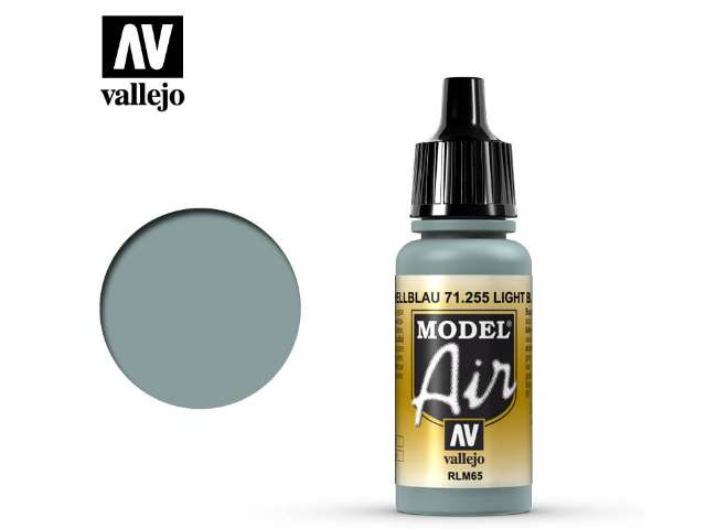Vallejo 17ml MA255 Model Air - 255 Light Blue RLM65