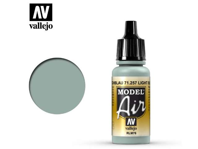 Vallejo 17ml MA257 Model Air - 257 Light Blue RLM76