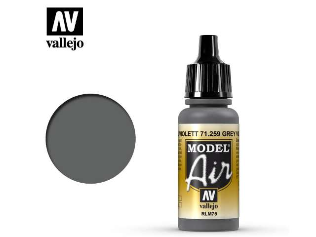 Vallejo 17ml MA259 Model Air - 259 Grey Violet RLM75