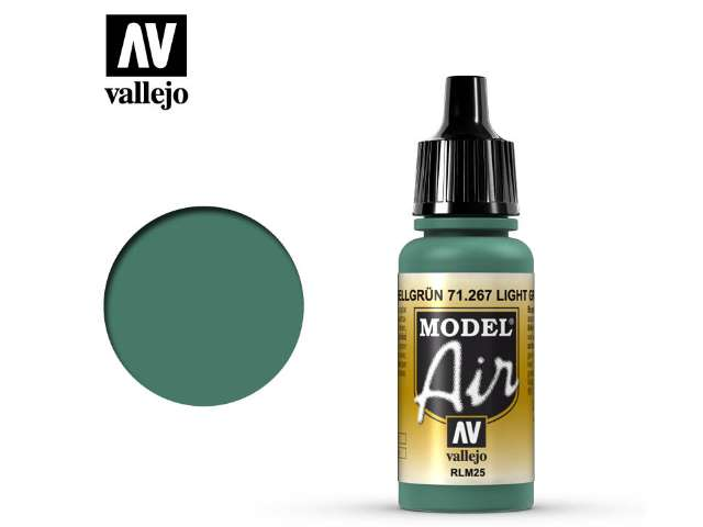 Vallejo 17ml MA267 Model Air - 267 Light Green RLM25
