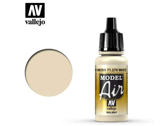Vallejo 17ml MA270 Model Air - 270 Off-White