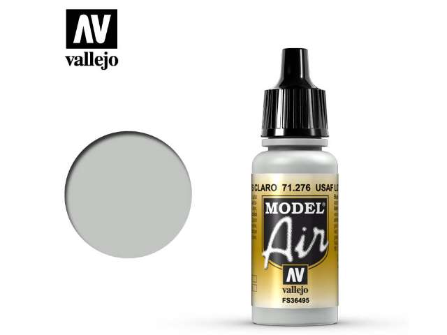 Vallejo 17ml MA276 Model Air - 276 USAF Light Grey