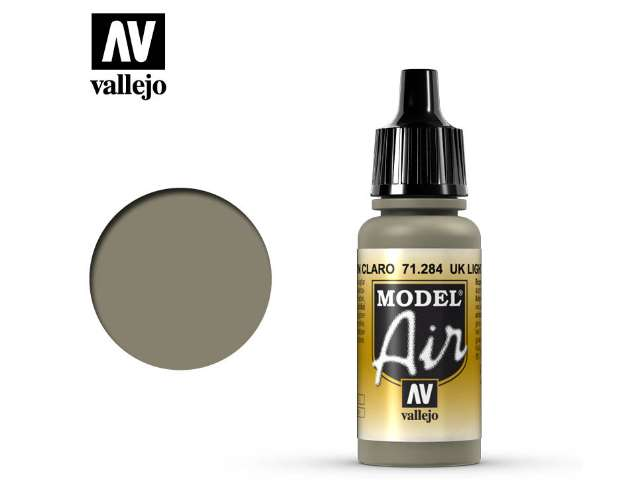 Vallejo 17ml MA284 Model Air - 284 UK Light Mud