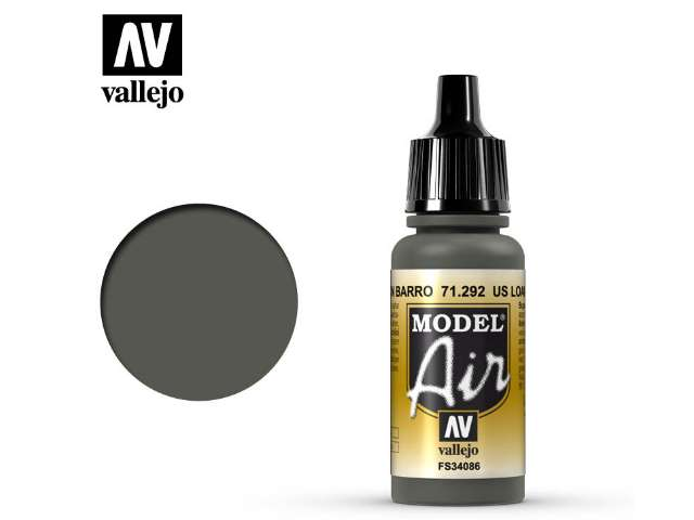 Vallejo 17ml MA292 Model Air - 292 US Loam