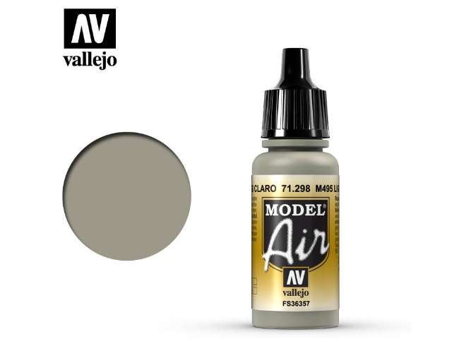 Vallejo 17ml MA298 Model Air - 298 M495 Light Grey