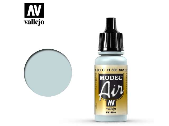 Vallejo 17ml MA306 Model Air - 306 Sky Blue