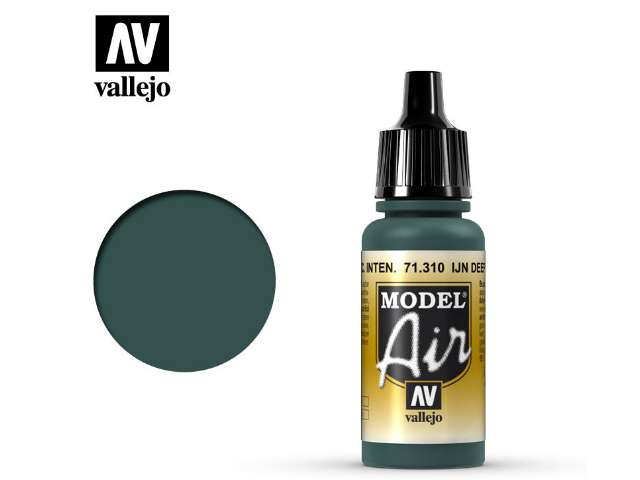 Vallejo 17ml MA310 Model Air - 310 IJN Deep Dark Green