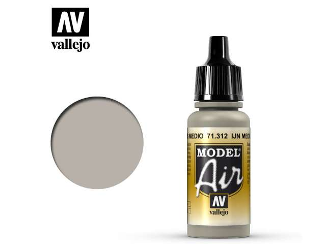Vallejo 17ml MA312 Model Air - 312 IJN Medium Grey