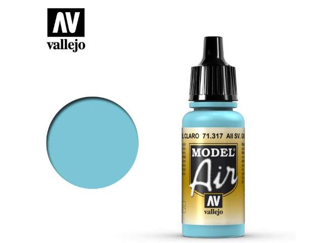 Vallejo 17ml MA317 Model Air - 317 AII SV. Gol Light Blue