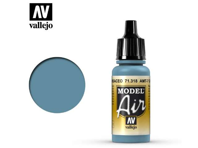 Vallejo 17ml MA318 Model Air - 318 AMT-7 Greyish Blue