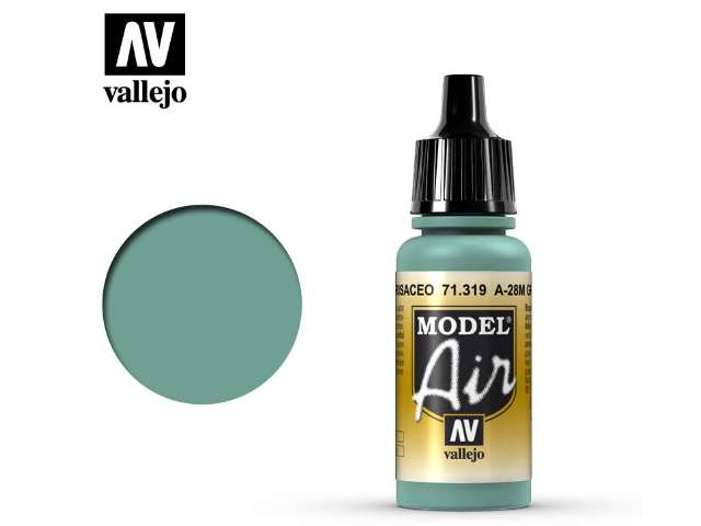 Vallejo 17ml MA319 Model Air - 319 A-28M Greyish Blue