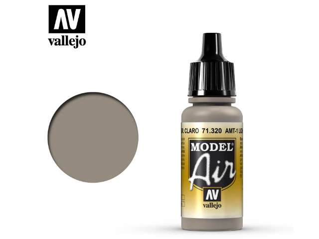Vallejo 17ml MA320 Model Air - 320 AMT-1 Light Grey Brown