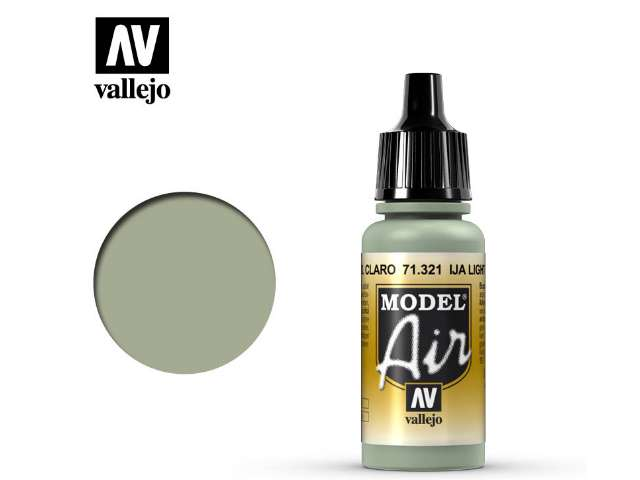 Vallejo 17ml MA321 Model Air - 321 IJA Light Grey Green