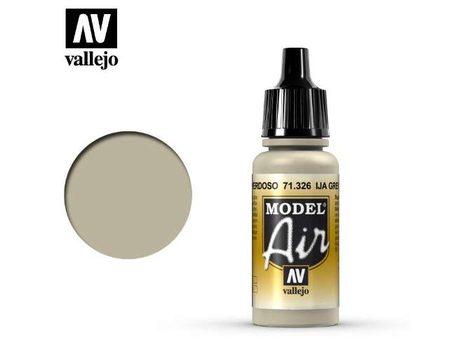 Vallejo 17ml MA326 Model Air - 326 IJA Grey Green